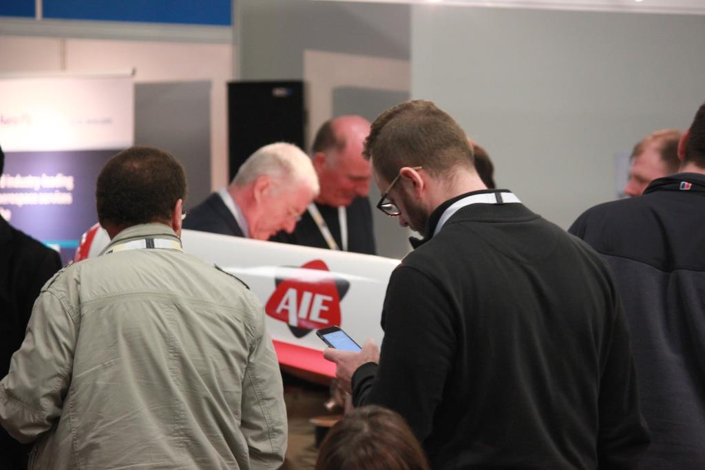 AIE joins other world-class engineers at the 2014 Advanced Engineering UK show in Birmingham