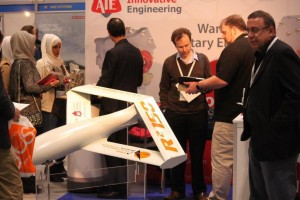 AIE Showcase World-Class Engines at Commercial UAV Show 2015