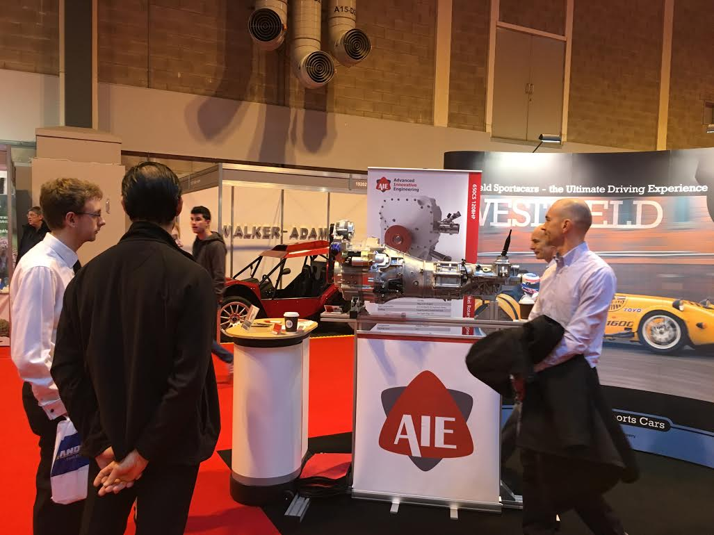 AIE to Raise the Bar for Rotary Engine Performance at Autosport International 2016