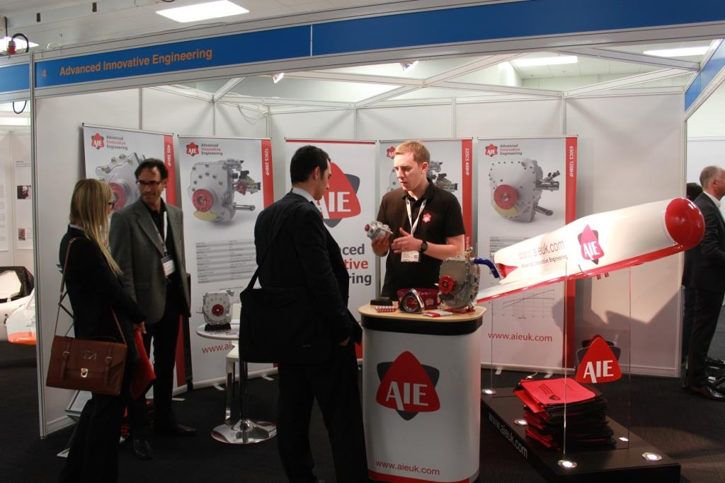 Rotary engines a major focus at the 2014 Commercial UAV Show in London-Olympia