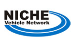 Niche vehicle network branded logo