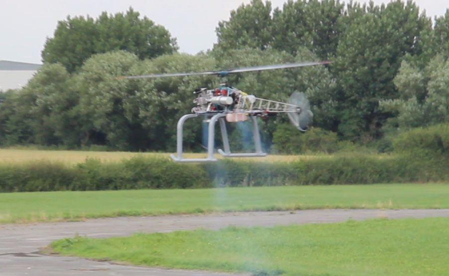 Successful Flight Test for AIE's VTOL Aerial Vehicle