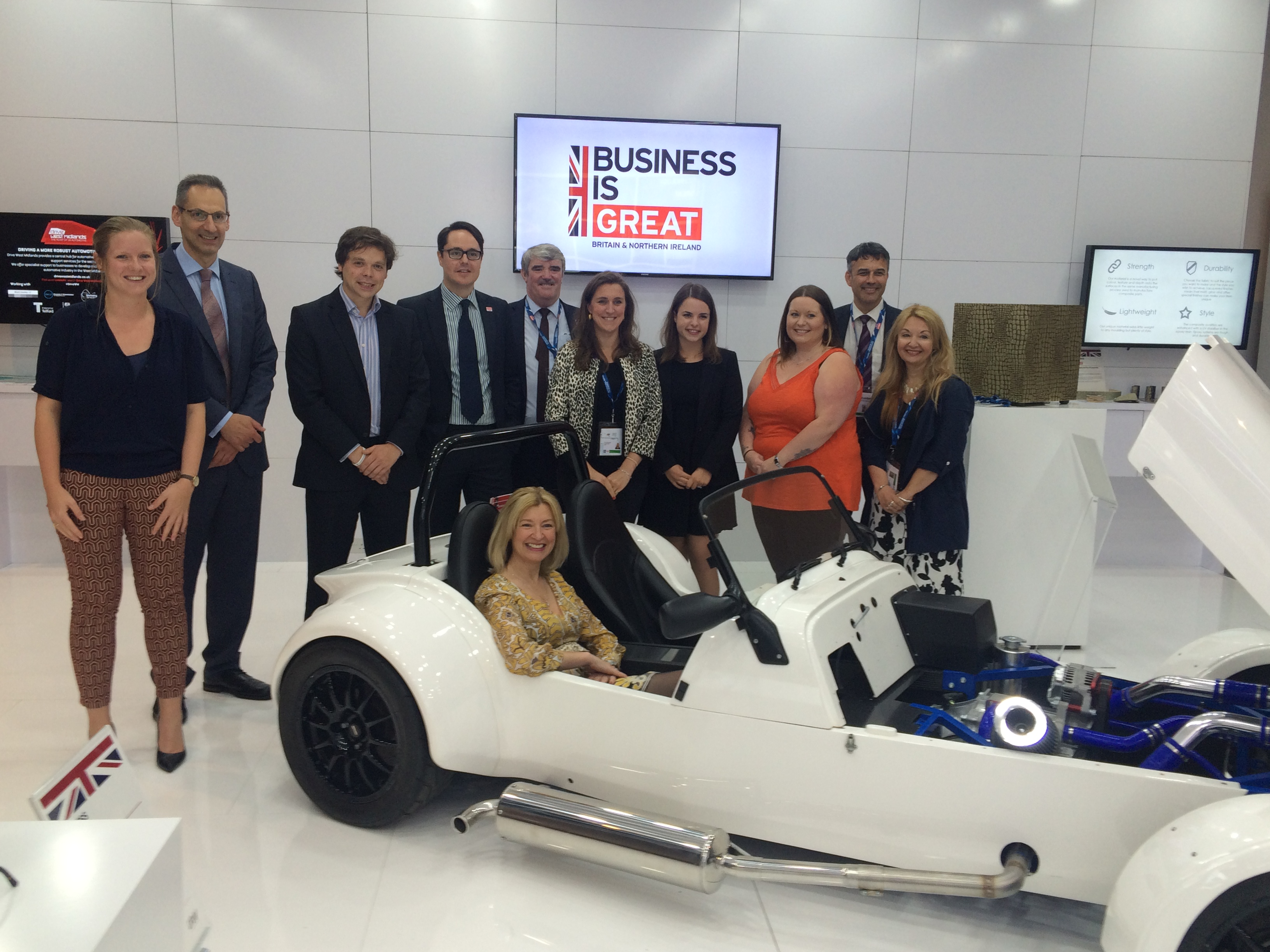 AIE Latest Innovations Showcased at International Festival for Business 2016