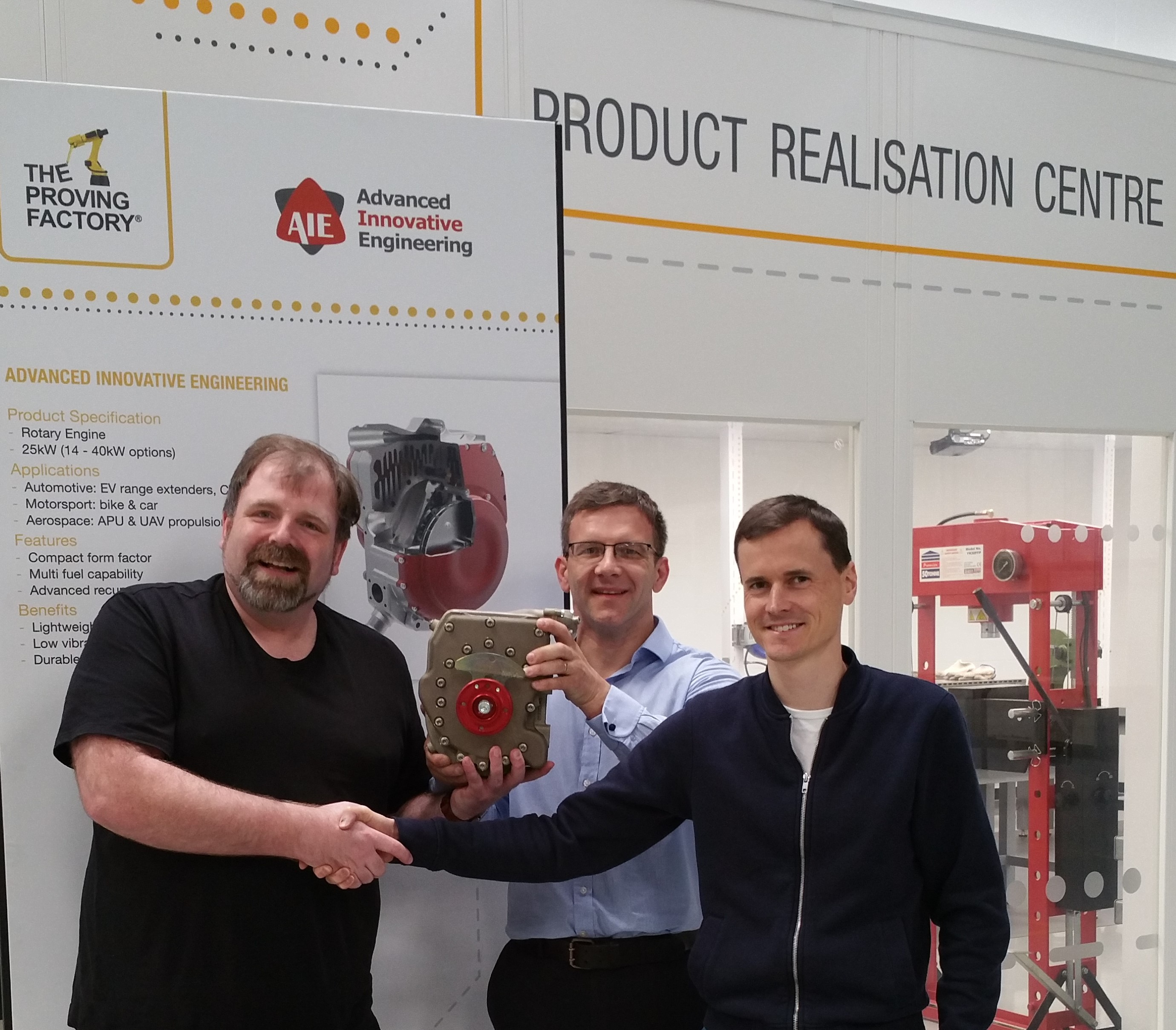 World-Class 225CS Rotary Engine Enters Serial Production with The Proving Factory