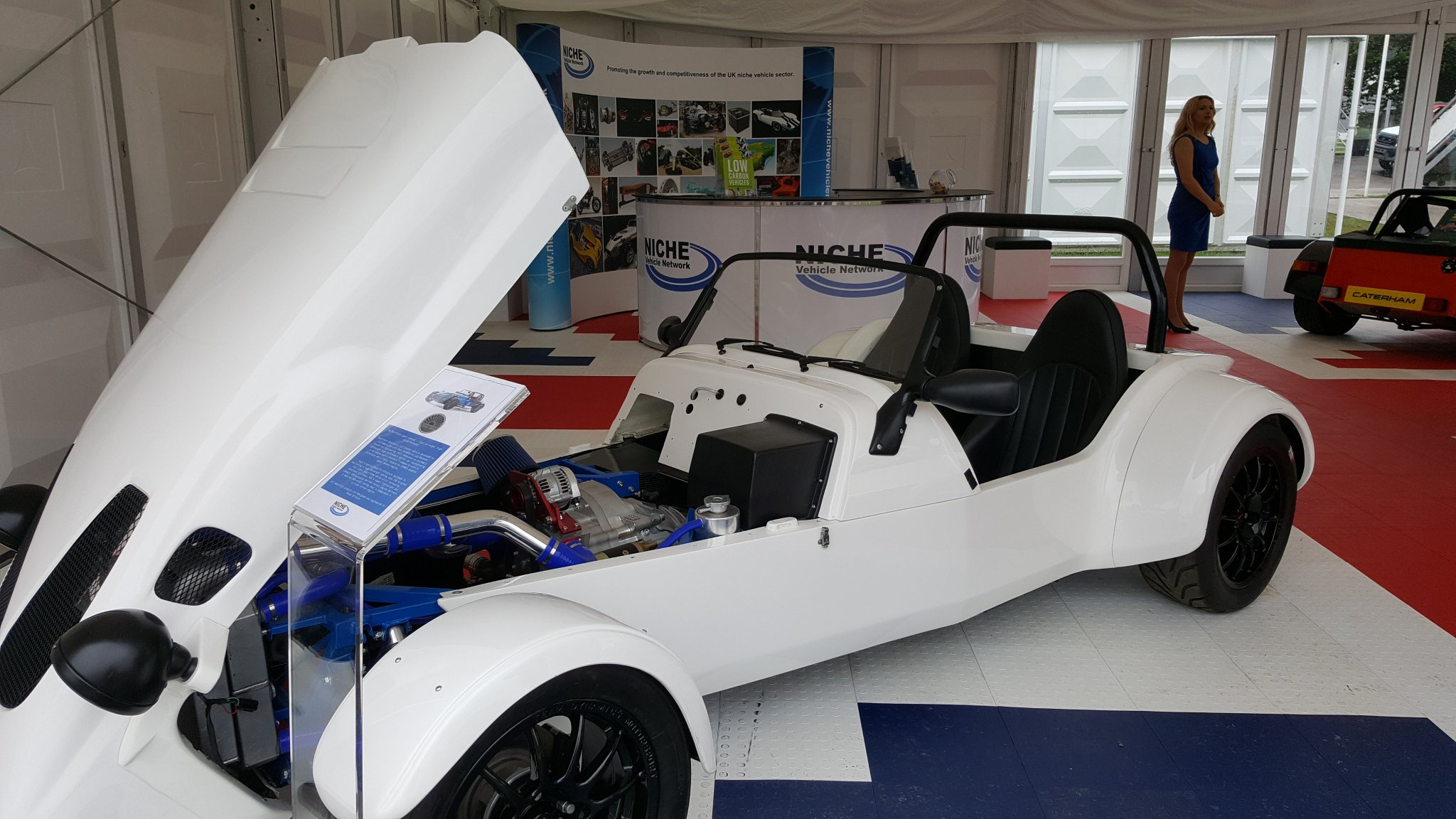 Rotary Engine Sports Car Clocks Up its First 2,700 miles