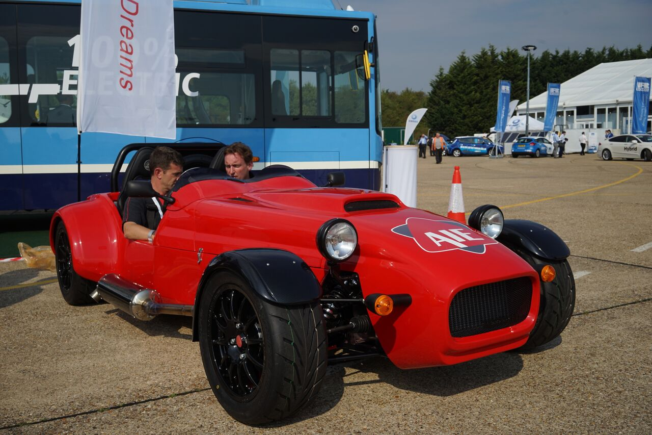 First British Rotary Engine Sports Car Makes Historic Debut - Sports car makes