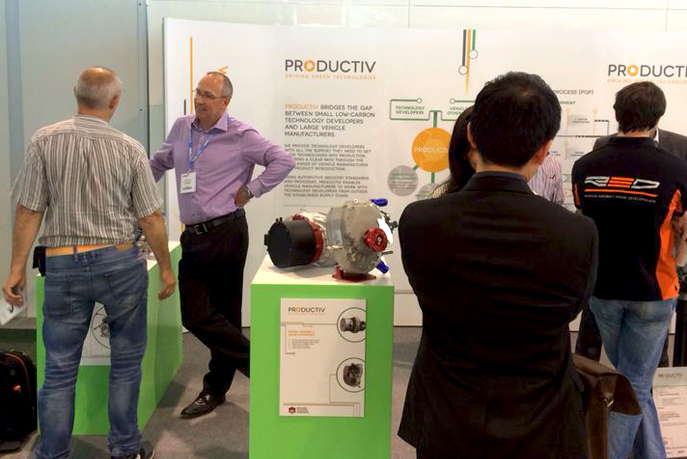 AIE's Unrivalled Rotary Engine at Engine Expo 2014