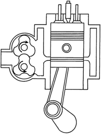Diesel engine diagram