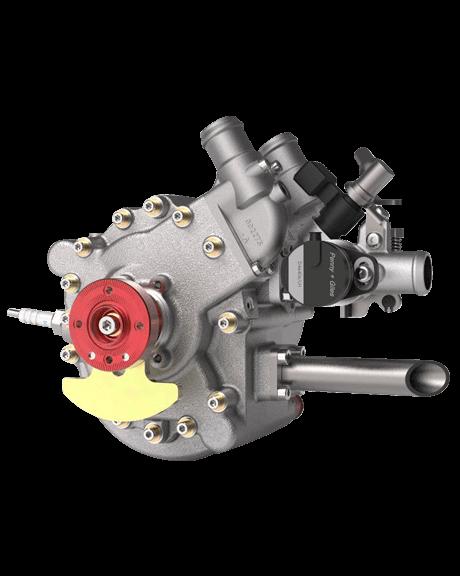40S – 5 BHP Wanke Rotary Engine