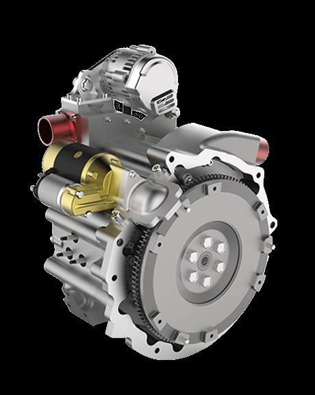 650S – 120 BHP Wanke Rotary Engine