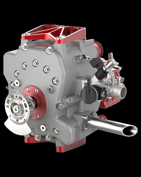 80S - 15BHP Wanke Rotary Engine