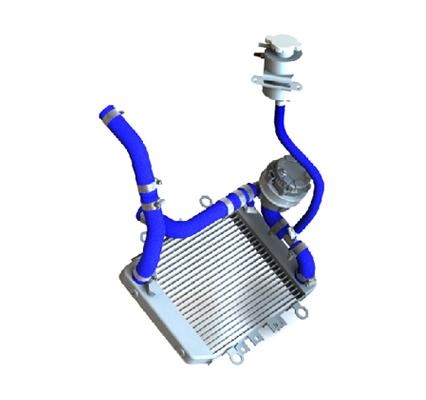 Cooling System OF 225CS-017 – 40 BHP UAV Propulsion System