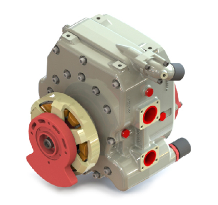 Core Engine & Generator OF 225CS-017 – 40 BHP UAV Propulsion System
